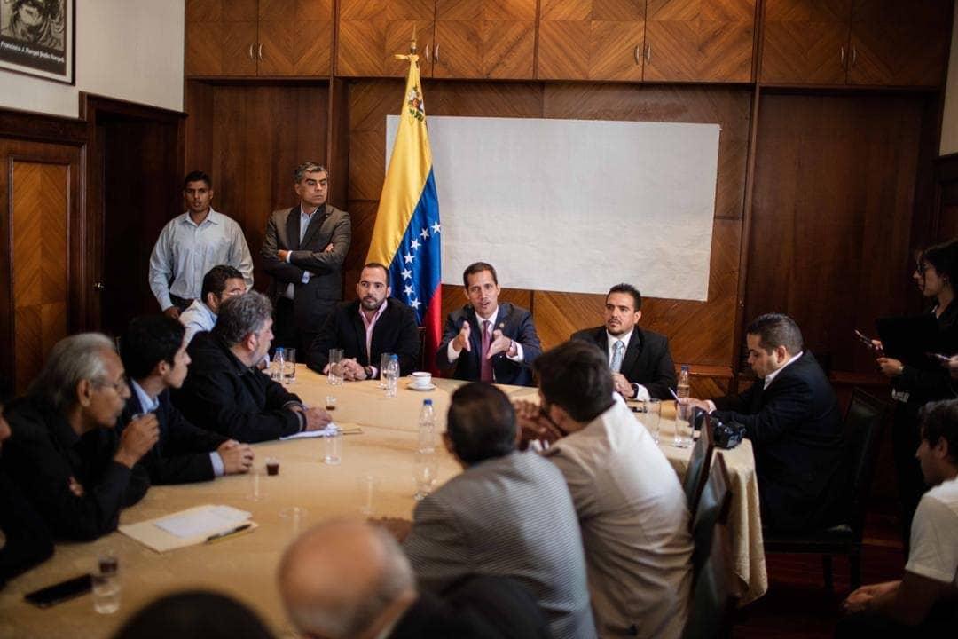 FALSO: Designación de Miembros del Gabinete de Guaidó (audio)