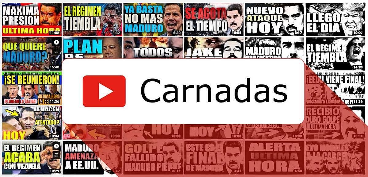 Carnadas de clicks: YouTube y los canales aficionados de noticias venezolanas