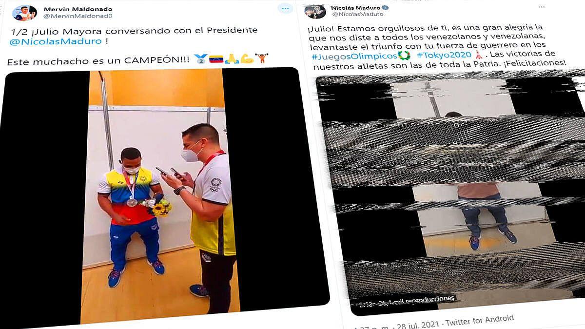 "Aclaratoria sobre la medalla de plata ""regalada"" a Hugo Chávez"